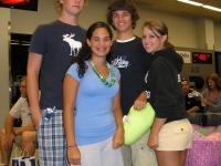 Ben, Melissa, Josh & Meghan at RDU