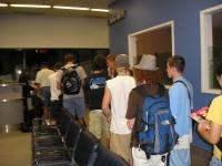 Boarding at RDU for San Antonio