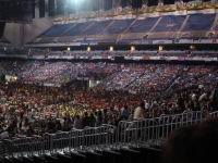 Part of the Alamodome seats