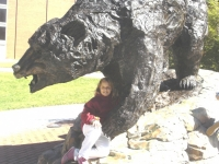 Christine with L-R Bear
