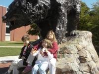 Kevin, Maura, Christine with L-R Bear 1