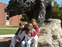 Kevin, Maura, Christine with L-R Bear 2