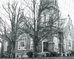 Picture of 3rd Church Building 1909-1962.