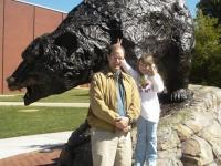 Greg & Maura with L-R Bear