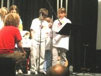 Kevin, Maura & Christine lead prayer