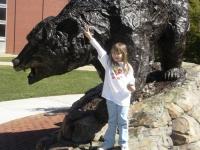 Maura with L-R Bear