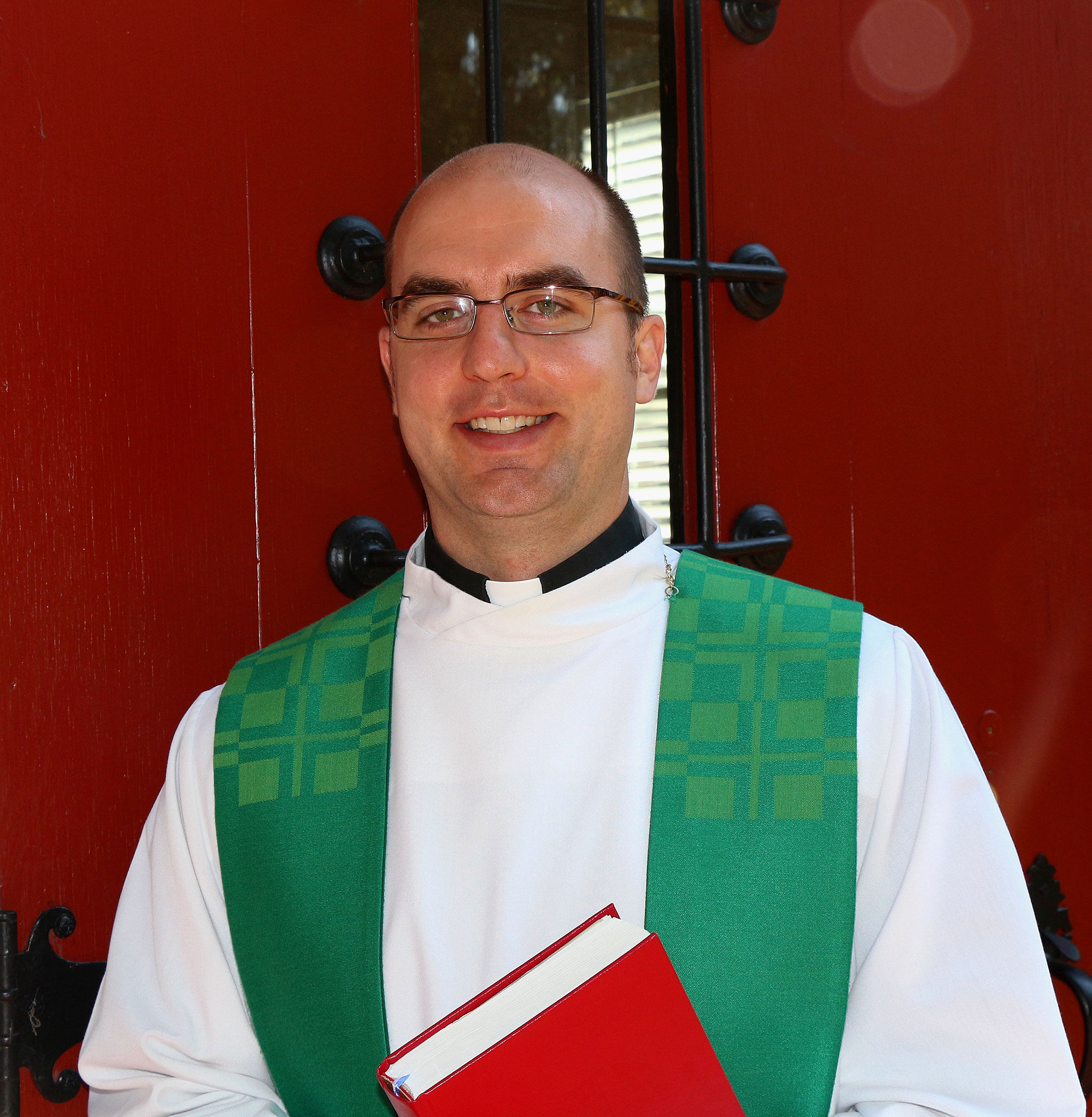 Macedonia Lutheran Church Pastor Adam Miller-Stubbendick